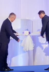 Vajda-Papír opened Hungary's most innovative paper factory