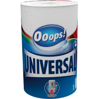 Ooops! Universal 1 roll 2-ply