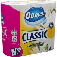 Ooops! Classic Chamomile 3-ply 4 rolls