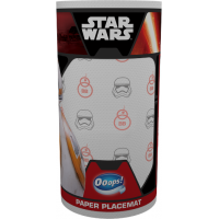 Ooops! StarWars placemat 2-ply 1 rolls