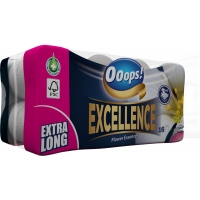 Ooops! Excellence Flower Essence 3-ply 16 rolls