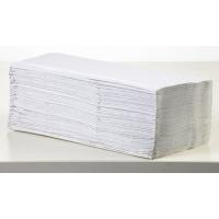 Z-fold white 20x200 sheets 1-ply