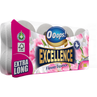 Ooops! Excellence Flower Essence 3-ply 8 rolls