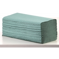 Z-fold green 20x200 sheets 1-ply