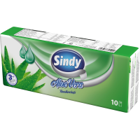 Sindy Aloe Vera 10x10 pieces 3-ply