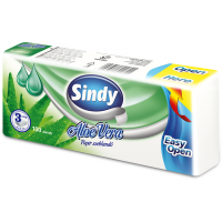 Sindy Aloe Vera 3-ply 100 pieces