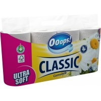 Ooops! Classic Chamomile 3-ply 8 rolls