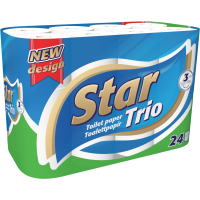 Star Trio 24 rolls 3-ply