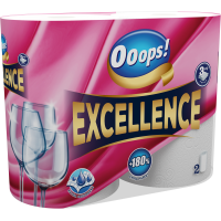 Ooops! Excellence 2 rolls 3-ply