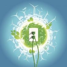 Zöld energia - alternativ energia - megújuló energia