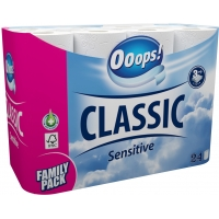 Ooops! Sensitive 24 rolls 3-ply