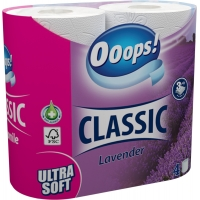 Ooops! Classic Lavender 3-ply 4 rolls
