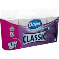 Ooops! Classic Lavender 3-ply 8 rolls