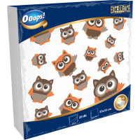Ooops! Excellence 20pcs 3-ply Napkin Designed 33x33 cm