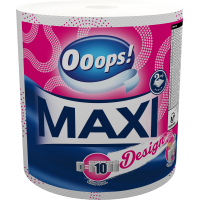 Ooops! Maxi Design (500 sheets) – Household paper towel (2-ply)