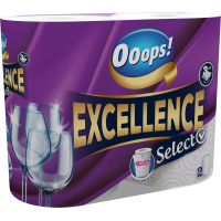 Ooops! Excellence Select paper towel (150 1/2 lap, 3-ply)