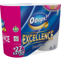 Ooops! Excellence 3-ply 4 rolls