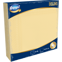 Ooops! Excellence 20pcs 3-ply Napkin Color 33x33 cm