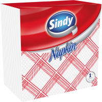 Sindy 45 pieces 1-ply, checkered